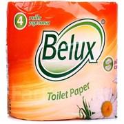 Бумага туалетная Belux 2сл. 4шт/уп