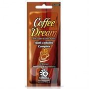 Крем с  маслом кофе,маслом Ши и бронзаторами CoffeeDream 15мл