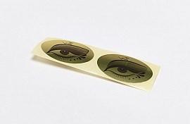 Наклейка на глаза для солярия 100 пар/уп Чистовье