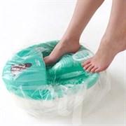 Пакет для педикюрных ванн полиэтилен 50*50+20 см 100шт/уп Чистовье