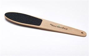 Пилка для ног двусторонняя,деревянная одноразовая