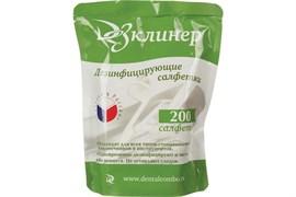 Салфетки ДезКлинер для дезинфекции (сменный блок) 200 шт./уп
