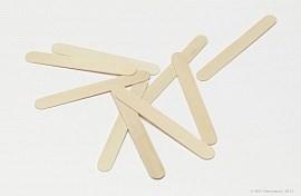 Шпатель деревянный узкий 100 шт/уп Чистовье